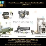 Fried Fresh Plantain Banana Chips Crisps Production Line Machines Equipment