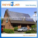 PV Solar Panel Aluminum Mounting System Tile Roof Solar Mounting Aluminum Frame Structure