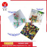 Wholesale Plastic Head Push PIns, Map Push Pins, Thumb Tacks,,Ball Head Pins With Good Use