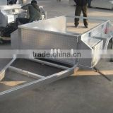 Hot dipped galvanized camper trailer with side drawer