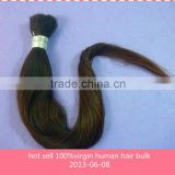 hot sell fast delivery remy straight 100%virgin human bulk hair