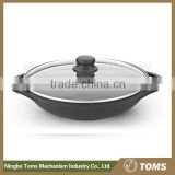 Kitchen supplies 32cm electric induction wok