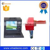 Automatic nameplate / sign / serial number / vin number 3d model tag portable dot peen marking machine