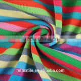 Yarn-dyed TR striped fabric knitting fabric T-shirt/fleece fabric/fabric spot wholesale autumn and winter
