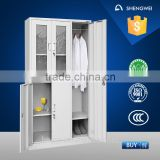 Glass door steel almirah godrej design with price list steel locker