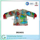 china supplier art and crafts foreign kids games kids painting smock apron