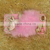 2013 Fashion Design chic and lovely Phone Cover/Housing/Case for iPhone5 with crystal horse