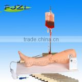 Advanced Medical human nursing Suture Training Leg,surgical suture model for study