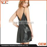 New design fashion sexy ladies deep v neck evening party dress sequins women dress                                                                         Quality Choice                                                     Most Popular