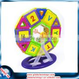 NEW Coloful Blocks for Children Development Magnetic Toy tiles,TOTAL 73 Pieces
