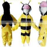plush bee baby costumes in Children's day or Halloween