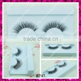 Hot sale natural human hair eyelashes with private label packaging                                                                         Quality Choice