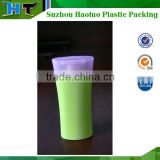 custom biodegradable empty plastic hair shampoo bottle 200ml