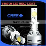 6500k power guangzhou car parts auto led headlight h7, h7 socket headlight for audi a6