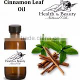 2014 Best Reliable Supplier for Cinnamon Leaf Oil