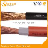 Low voltage copper awg wire multi strand single core cables for weld machine
