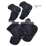 Motorcycle Motor Cycling Off-road Knee Elbow Guards Pads Black