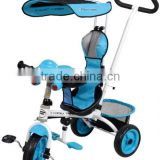 toy luxury kids tricycle/baby stroller/children running bike 18819-4FD