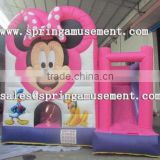 Hot sale Mickey mouse classical inflatable party jumper and slide combo castle SP-CM028