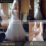 Best Selling beaded wedding bolero wedding dress