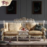 china factory wholesale Classic Italian antique living room furniture sofa Italian sofa set                                                                         Quality Choice