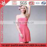 Hot selling Maxi dress strapless Sleeveless Slim Hipadies Dress Y165