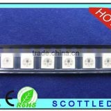 rgb 5050 led pixel strip chip ;1000pcs to 1 reel;dc 5v input ; build in ws2811ic with 5050smd rgb led to ws2812b led pixel strip
