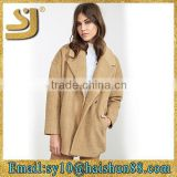 Hot sell lady outdoor wear down jacket one button blazer