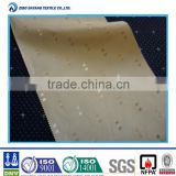 100% polyester fire retardant hotel blackout curtain fabric