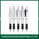 2 in 1 plastic highlight marker pen with customized logo                                                                         Quality Choice                                                     Most Popular