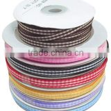 Tartan Ribbon, Decorative Plaid Ribbon, Cake Decor Gift Ribbon, 10mm wide, 50 yards/roll(RC10mm-M)