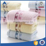 100% terry cotton face towel face cloth with lace