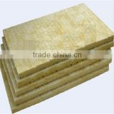 External insulation mineral fiber board high density rock wool board