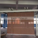 The GOOD Quality HDPE fabric cordless blind with many color for choosing