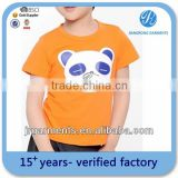 Garment Factory Children's cotton silk printing Round neck short sleeve t shirt Clothing Bulk Wholesale / China supplier