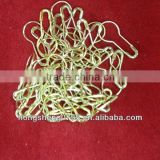 Bulb Shaped Metal Safety Pin With Gold Color In Bulk Price