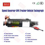 vehicle GPS Tracker Speed limiter/Governor for truck/bus/car record last 360 hours speed report BSJ-T01