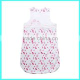 China soft cotton wearable sleep sacks, baby sleeping bag wholesale