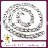 Very Popular In USA Fashion 316L Stainless Steel Silver Wide Heavy Anchor Marine Link Chain Necklace For Mens With Best Quality