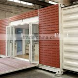 2016 china supplier fast build flat pack container house / low cost prefab container house