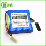CW-TTSCESMC 4.8V 3600mAh Ni-MH battery pack HR4/3AU-F4C XHR-4/3AUX Survey & Multimeter Battery Trimble Range Trimble TDS