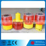 Traffic lights led source solar warning road cone flashing lights