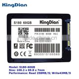 "KingDian SSD factory 2.5"" inch SATA3 SATA internal Hard Disk Drive 60GB SSD"
