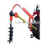 3Point Post Hole Digger, Earth Digger, Tractor Mounted Post Hole Digger, For Trees Planting