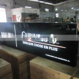 silk screen printing light box, external sucking sign box ,3D acrylic moulding signage,acrylic billboard outdoor
