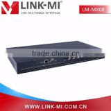 LINK-MI LM-MX08 HDMI 8in8out 2.0 & HDCP 2.2 4K2K@60Hz HDMI Matrix 8x8 support RS232 and TCP/IP Control