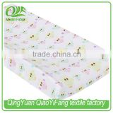 Whole sales, Breathable Muslin Baby Changing Pad Cover, baby crib sheet