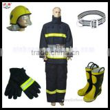 Fire Fighting Protective Clothing/Safety Helmet/Safety Belt/Rubber Boots/Gloves/Fire Suit