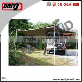 China 4x4 manufacturer Unity Hot Customization Size car foxwing awning for ranger accessories