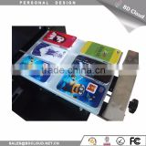 A4 size digital flatbed printing machine uv flatbed printer 3d embossed card printer mobile phone case printer